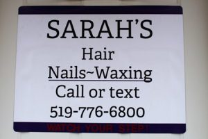 Sarah's Hair Nails Waxing